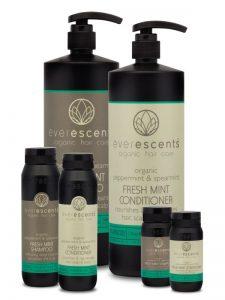 Organic Fresh Mint Shampoo and Conditioner