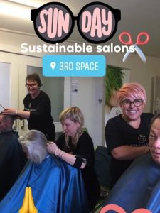 Blank Canvas Hair and Beauty Volunteering