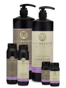 Organic Lavender Shampoo and Conditioner
